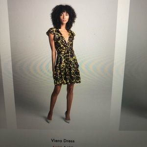 A.L.C. Viera Print Silk Dress
